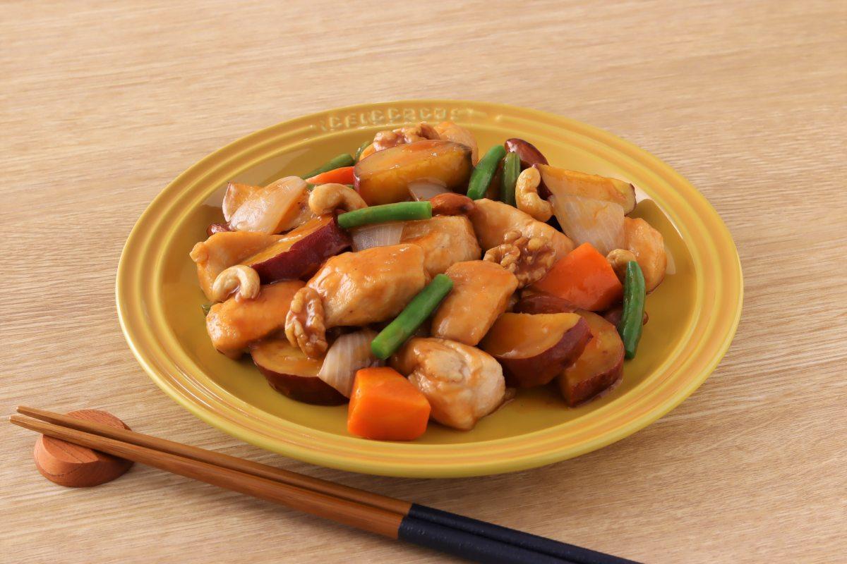 カラフル酢鶏